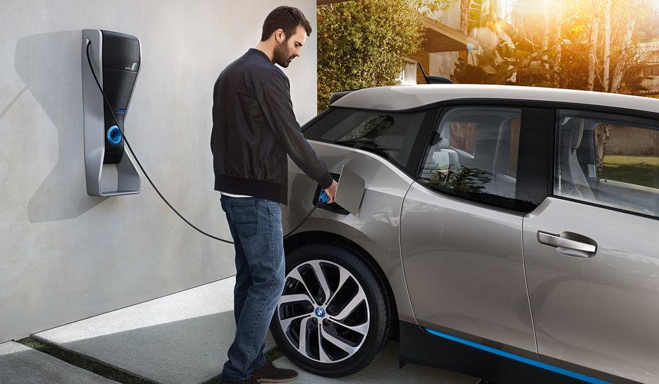 BMW i3 Carregando Bateria